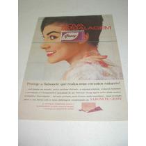 ( L - 290/ P ) Propaganda Antiga Sabonete Gessy
