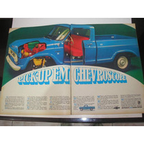 ( L - 290/ G ) Propaganda Antiga Gm Chevrolet Pick-up 1969
