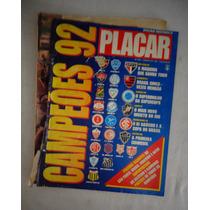Revista Placar Campeões De 92 Edição Histórica N°1079 1993