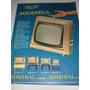 Propaganda 1964, Aquarela Tv Portatil Admiral. Cintas Perfil
