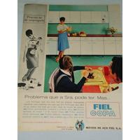 Propaganda 1964, Móveis De Aço Fiel Copa & Lençóis Santista