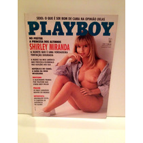 Revista Playboy - Shirley Miranda - 07/92