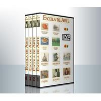 Curso De Pintura E Desenho 4 Dvds Editora Globo