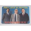 Santinho Propaganda Antiga Calendário Janio Quadros -1985