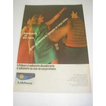 ( L - 290/ P ) Propaganda Antiga Sabonete Lifebuoy