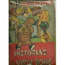 Historias Dos Nossos Bichos Album Figurinhas 1963