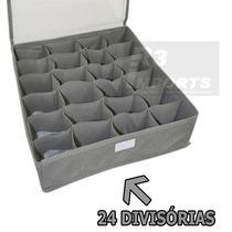 Organizador De Gavetas C/ 24 Divisori Calcinhas Cuecas Meias