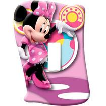 Espelho Sem Interruptor Minnie Mouse Disney Menina Startec