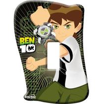 Espelho Sem Interruptor Ben10 Quarto Infantil Menino Startec