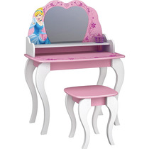 Penteadeira Com Banqueta Princesas Disney Star