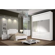 Dormitório Casal Espelho San Marino D Doro Móveis