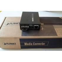 Conversor Midia Rj45 10/100/1000 Sc 1gb Gt-802s Mm/sm Planet