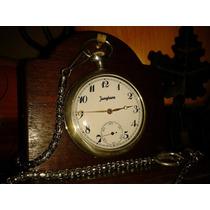 Relíquia: Relógio Junghans Pocket Watch Prata - Germany/1947