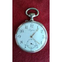 Relógio De Bolso Longines Em Prata 12 Medalhas