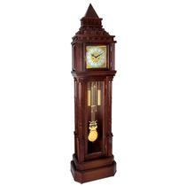 5340 - Relógio De Chão Pedestal Carrilhão Herweg