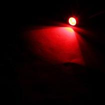 Par Lâmpada Led Pingo Vermelha T10 12v Frete Grátis
