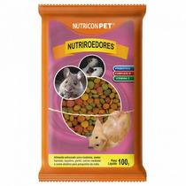 Ração Hamster Nutriroedores 100 G - Alimento Extrusado