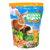 Funny Bunny Ração Roedores Coelhos P. Da India 4 Pcte 1,8 Kg