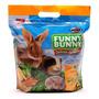 Funny Bunny 500 G Ração Roedores Coelho Porquinho Da India