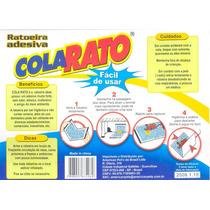 Ratoeira Adesiva Cola Visgo Pega Rato Caixa Com 20 Unidades