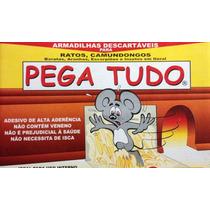 Adesivo Para Pegar Rato Ratoeira Cola Ratazana Ratos Roedor