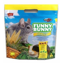 Ração Funny Bunny Chinchila - Fracionada 2 Kilos