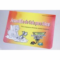 Kit C/ 20 Ratoeiras Adesivo Pega Tudo Cola Para Pegar Ratos