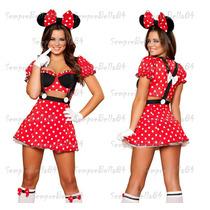 Fantasia Minnie - Adulta Feminina - Frete Grátis
