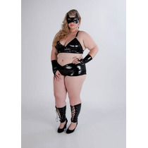 Fantasia Mulher Gato Plus Size