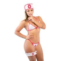 Fantasia Feminina Conjunto Doutora Sexy + Frete Barato !!!
