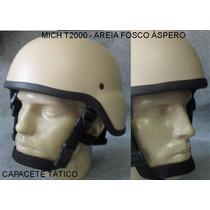 Capacete Tático - Mich Tc2000 - Areia Claro - Painball