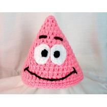 Touca/gorro Croche Patrick - Bob Esponja Todos Os Tamanhos