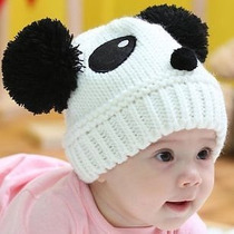Gorro/touca Panda Infantil - Super Quentinha - 9 Aos 36 M.