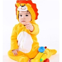 Roupa Para Bebê Na Fantasia De Leão Tamanho M