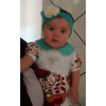 Faixa Tiara Cabelo Bebê Menina