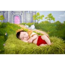 Conjunto Newborn Príncipe Crochê Fotografia Bebê Maternidade