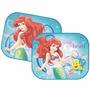 Protetor Solar Duplo P/ Carro Disney Sereia Ariel Bebê Neném