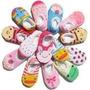 Lote 05 Pares Meias Para Bebês Antiderrapante - P/ Entrega