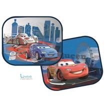 Protetor Solar Duplo P/ Carro. Disney Carros 2. Bebê Neném