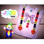 Jojo Baby - Camisa Palhaço Palhacinha Bebê Menina Circo