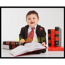 Terno Infantil Linha Bebê Completo - Veste 04 A 18 Meses