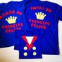 Camisetas Personalizadas Pai, Mãe E Filho Pequeno Princípe