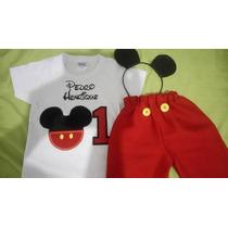 Fantasia Mickey E Minnie Personalizada