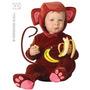 As Crianças Do Macaco Traje - Babys Toddlers Vestido Macio