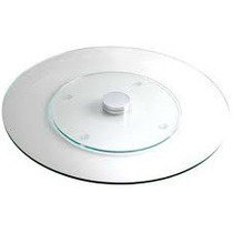 Prato Giratorio 60cm Diamentro Vidro Temperado 8mm Espessura