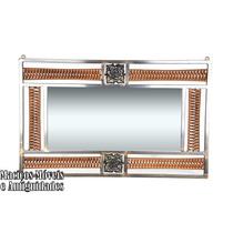 Moldura C/ Espelho, Elegante, Em Ouro Velho ( Aparador )