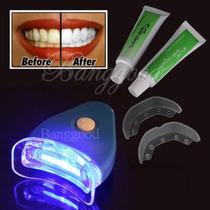 Dentes Brancos Luz Clareamento Dental Gel Branqueador Saúde
