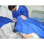 Kit Procedimentos De Odontologia Tecido Brim Azul Royal