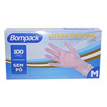 Luva De Vinil S/ Amido (pó) C/05 Cxs C/100 Unid.cada - Tam M