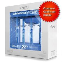 Clareador Dental Whitness Perfect 22% Com Tudo + Brinde
